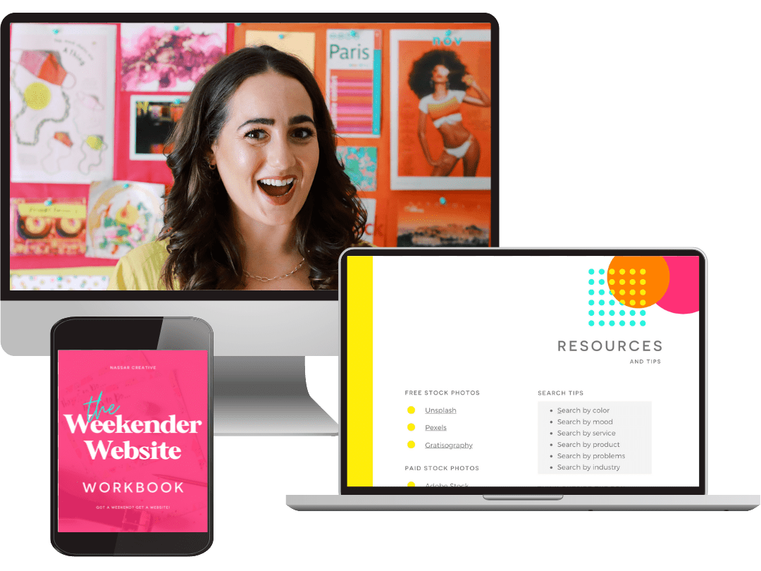 Wordpress Websites | Nassar Creative Weekender Website Program